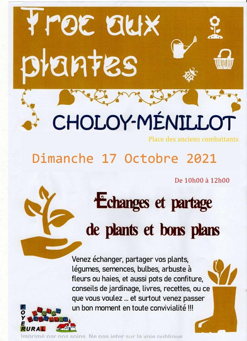 Echanger, partager…le troc aux plantes est de retour !